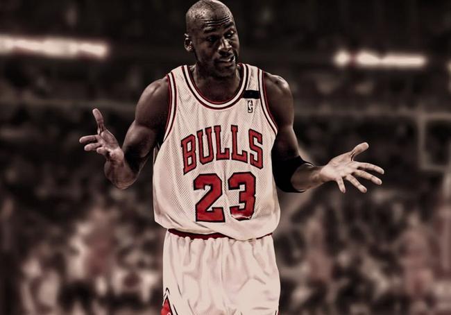 篮球之神--乔丹