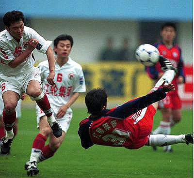 5月14日下午,在青岛颐中体育场进行了全国甲a联赛第九轮青岛海牛对