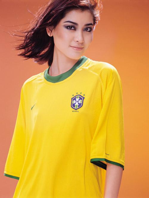巴西队球衣图片