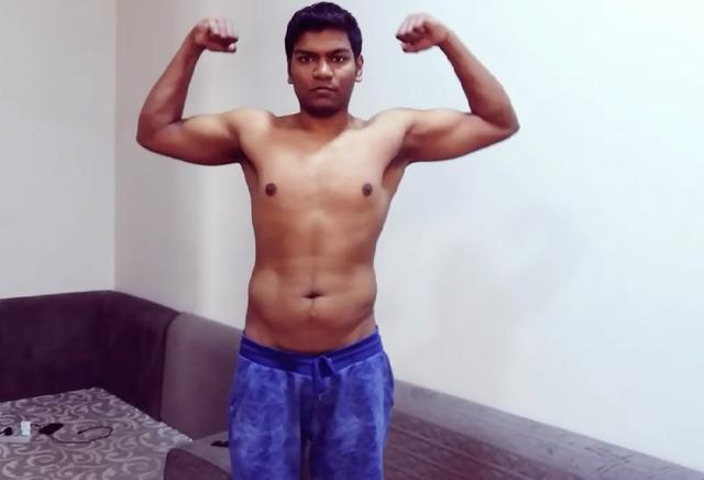 胖哥成功减肥50斤后 首次进入健身房 会有何效果