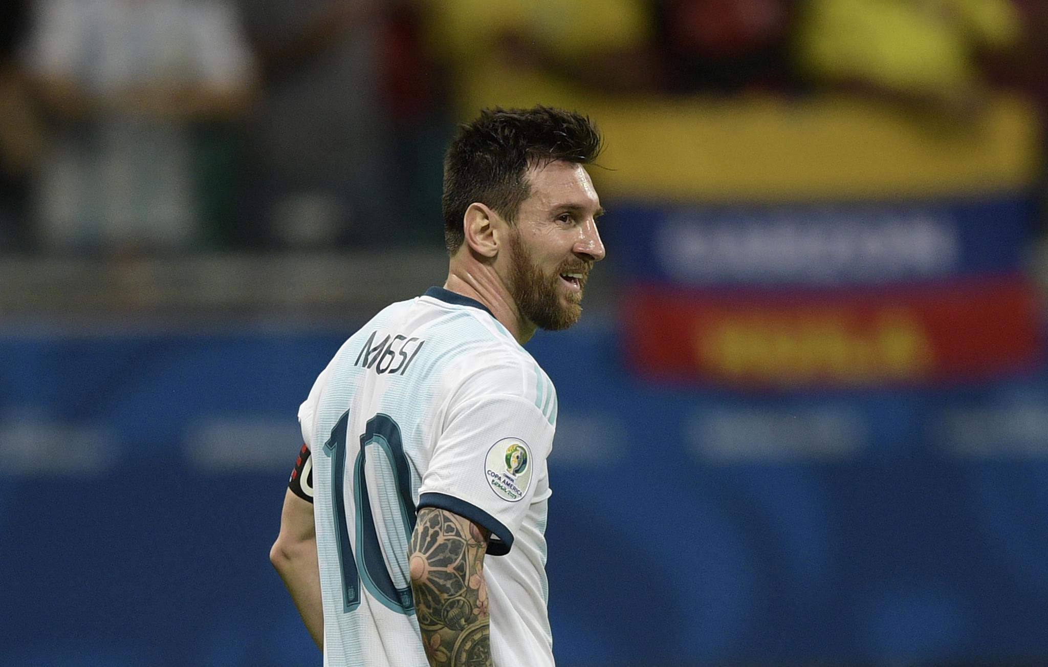 无暇抱怨 梅西:阿根廷必须向前看