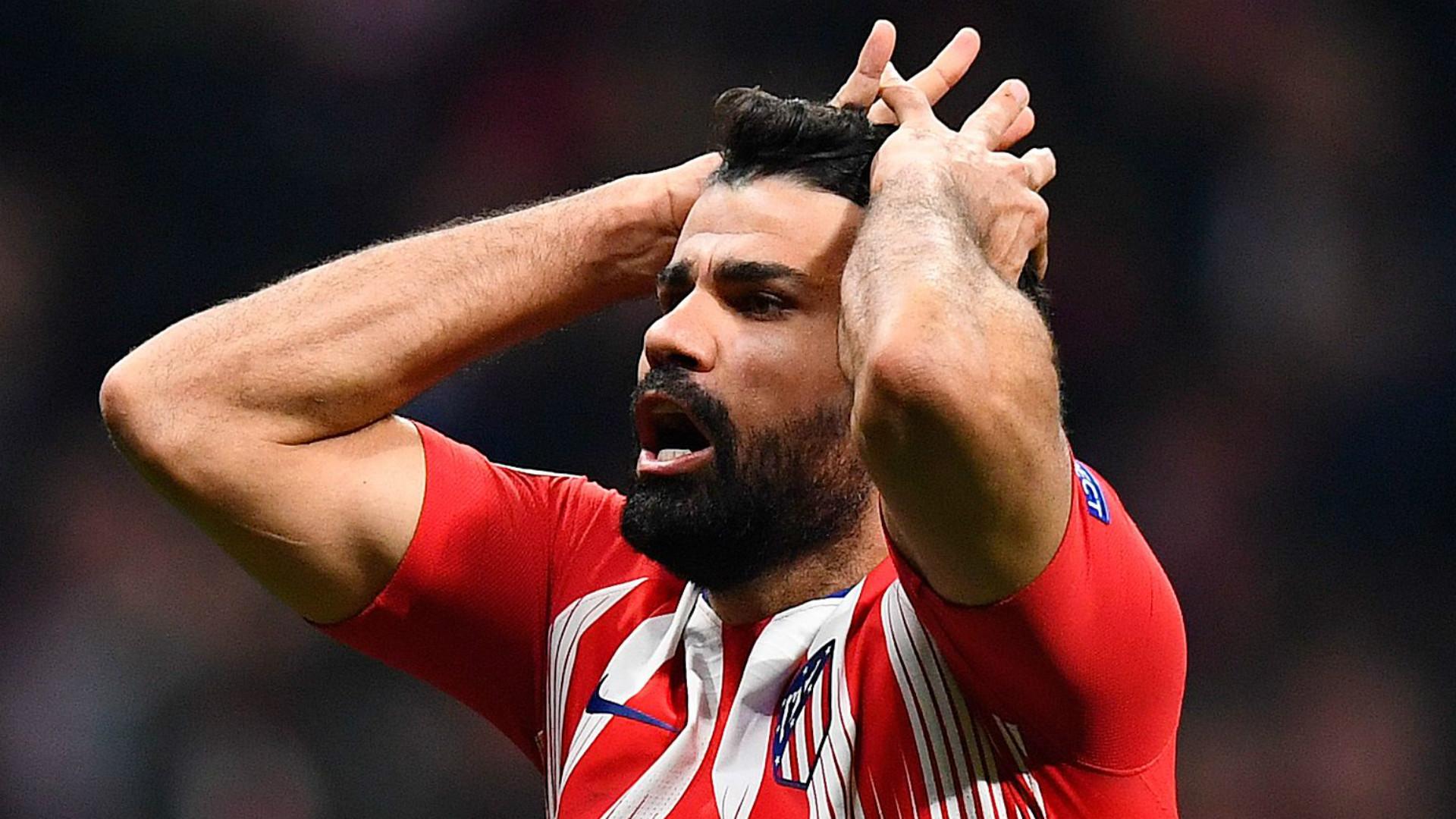 沙巴体育 反复无常的前锋迭戈・科斯塔即将离开马德里竞技