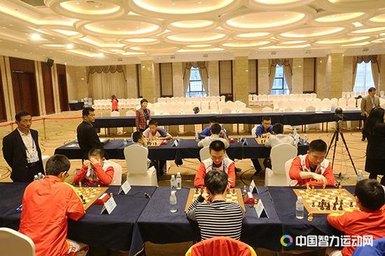 四智会国际象棋 山东包揽少年男女团体赛金牌