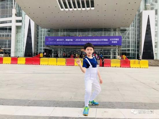 佩剑超新星国象小高手 专访江宁学校薛煜宸