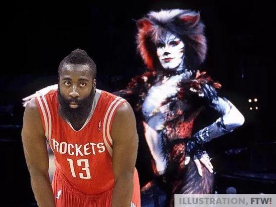 大部分NBA球员都养猫,哈登厉害了!他养猫女郎 NBA新闻 第8张