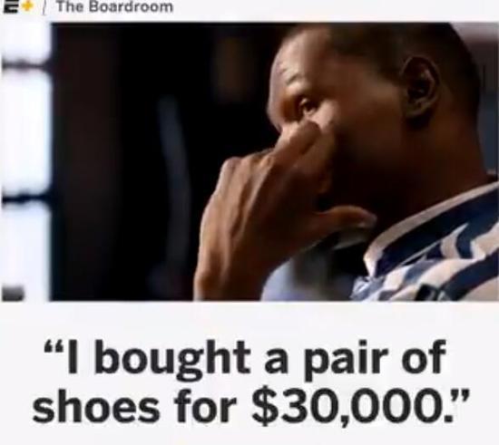 塔克买杜兰特的球鞋花费3万美元