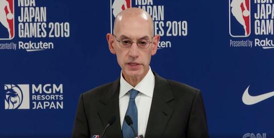 NBA总裁连夜来华!