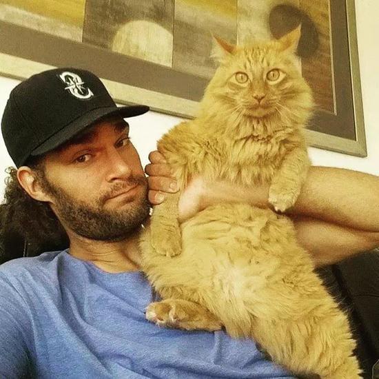 大部分NBA球员都养猫,哈登厉害了!他养猫女郎 NBA新闻 第5张