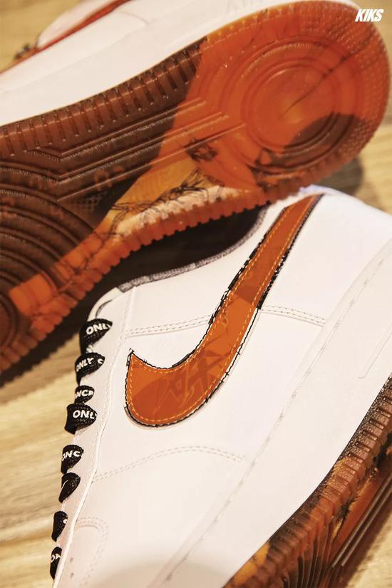 """Nike 又一次把""""灌篮高手""""印在鞋上"""