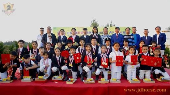 """山东省第五届""""海氏海诺·伯乐杯""""青少年马术邀"""
