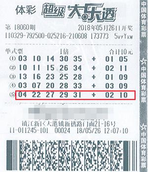 男子10元擒大乐透1500万 遗憾没追加少得800万,孔垂楠 资料