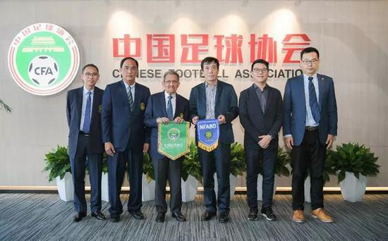 无锡申博总网中国足协与文莱足协在京签署合作备忘录 陈戌源