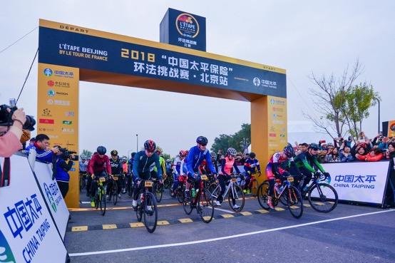 环法挑战赛首次登陆北京