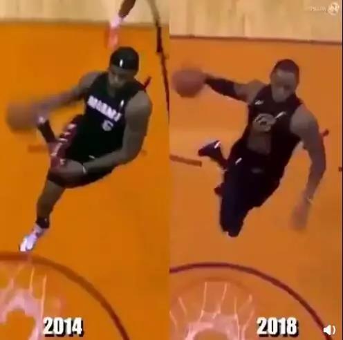 看了这8张NBA对比图发体育现 真有一模一样的动作!