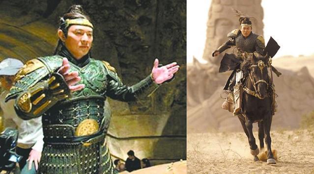甄子丹的关羽,成龙的霍安,论功夫明星骑马,洪金宝这个最搞笑!