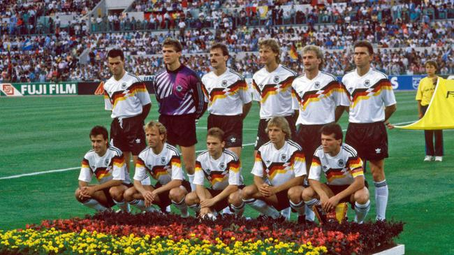 1990年夺冠的那支德国队