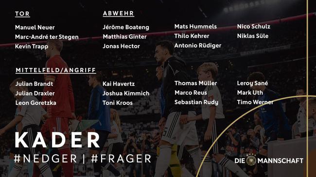 德国大名单