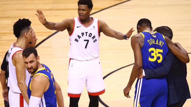 圈粉了!从不骂人的猛龙,对待KD有点暖心(视频) NBA新闻 第3张