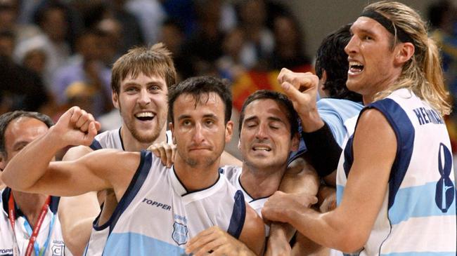 吉诺比利04年奥运会夺冠