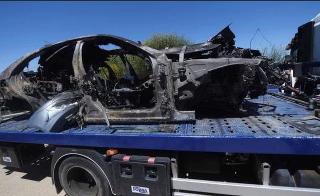 雷耶斯车辆残骸
