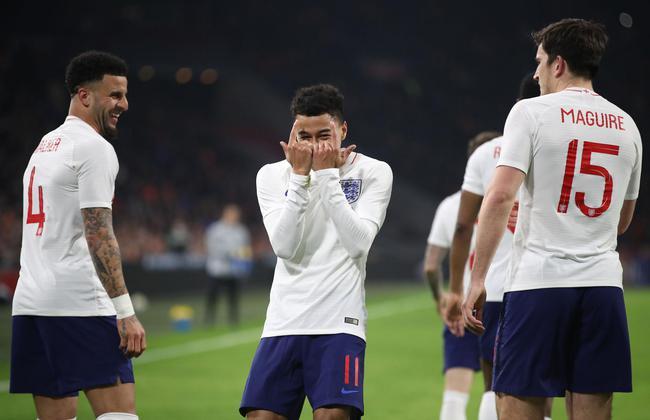 英格兰客胜荷兰