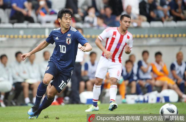 日本4-2逆转巴拉圭