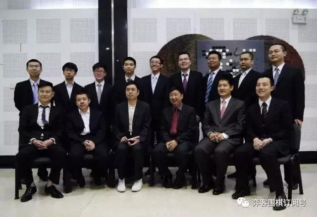 中国顶尖职业棋手
