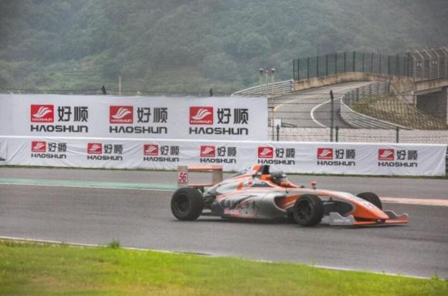 F4中国锦标赛、中国方程式大奖赛在宁波展开了激烈争夺