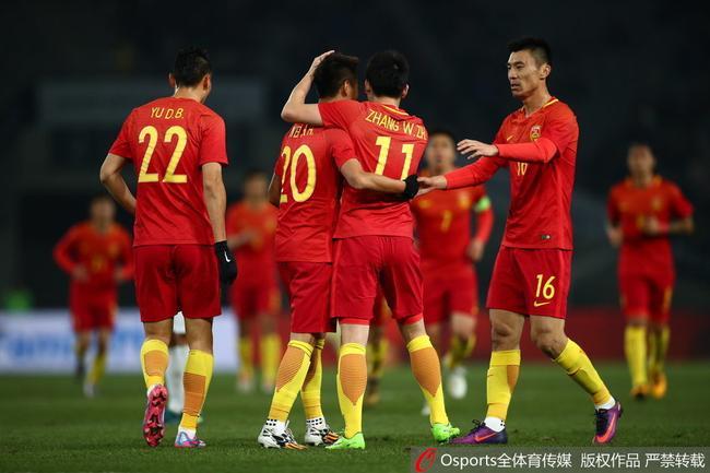 国足即将迎来中国杯比赛