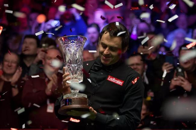 奥沙利文获得第33冠