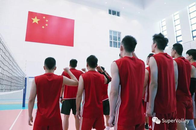 中国男排宣誓