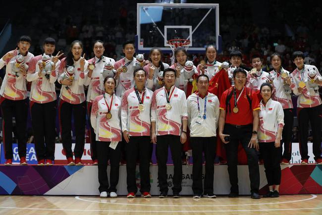 中国女篮亚运夺冠