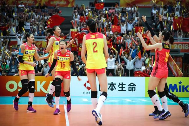 中国女排晋级6强