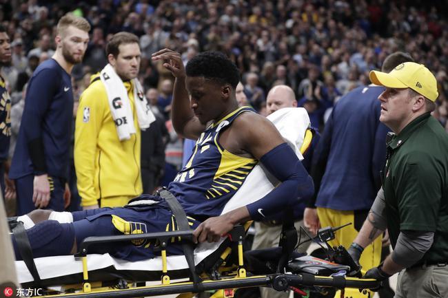 步行者官宣:奥拉迪波右膝肌腱断裂赛季报销