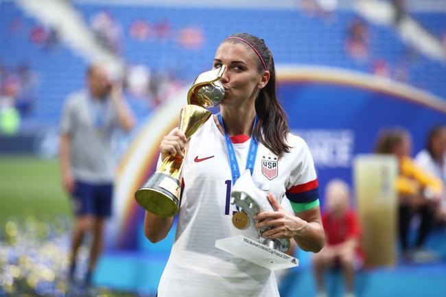 美国女足明星球员之一的摩根