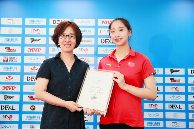 李珊王茜亮相天津体育节新闻发布会