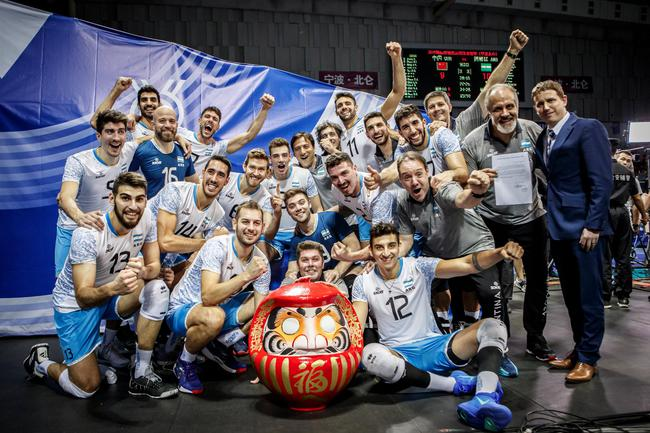 阿根廷男排获得东京奥运会席位
