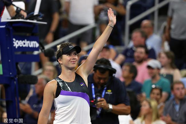 美网斯维托丽娜仅丢两局取完胜 晋级16强会师凯斯