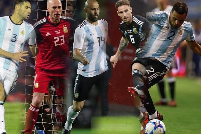 阿根廷老将云集