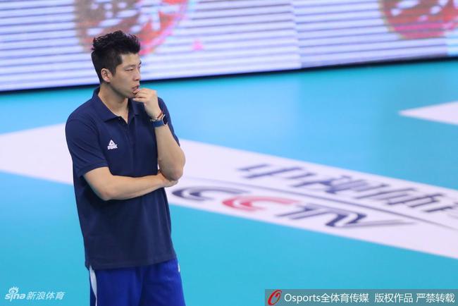 参加亚运会的这支中国男排是二队的性质