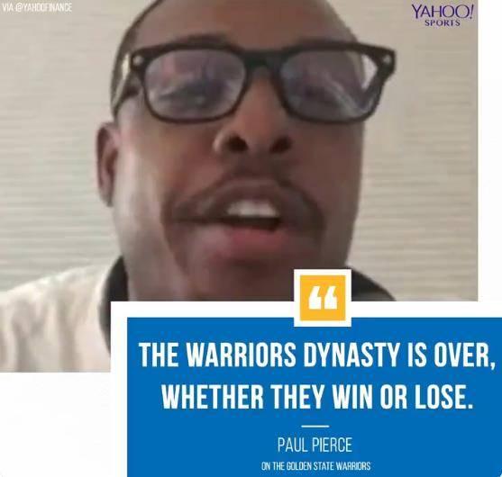皮尔斯又发话了!猛龙会赢G6杜兰特夏天必走 NBA新闻 第2张