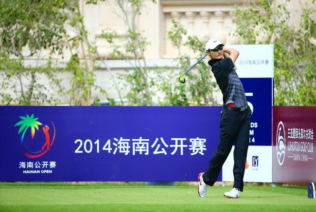 李昊桐在2014年海南公开赛