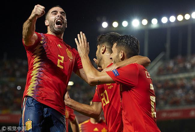 西班牙6-0大胜克罗地亚