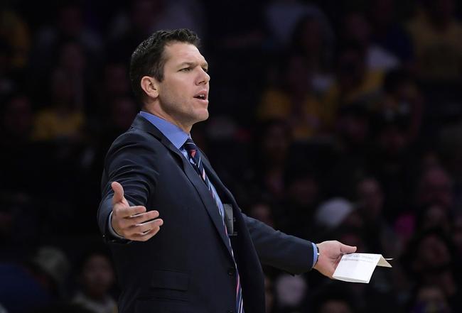 湖人正式解雇沃顿!泰伦卢成新任主帅最大热门 NBA新闻