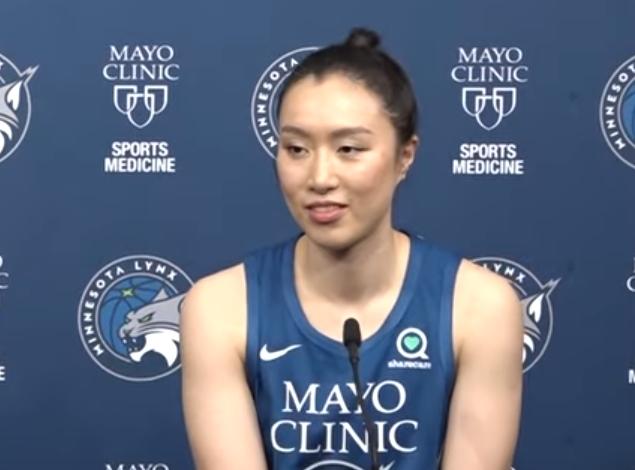 WNBA常规赛:山猫年夜胜风暴 邵婷出战86秒0分2板