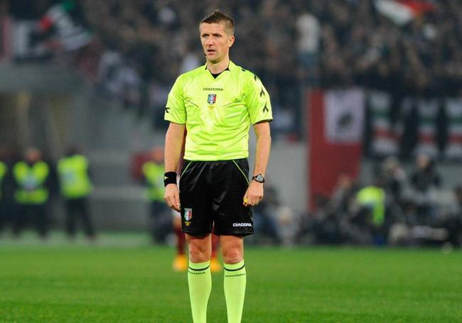 曼联VS巴黎主裁判确定 曼城在他执法下输球了