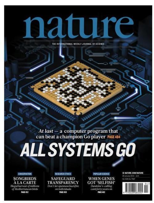 那一期《自然》杂志的封面