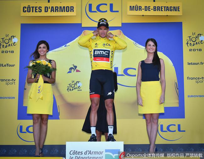 环法第6赛段范阿维马特继续保有黄衫