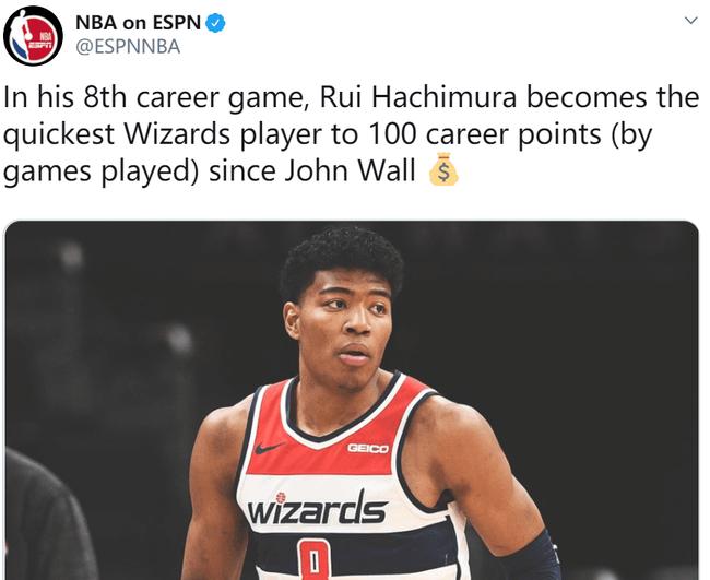 沃尔后奇才最强新秀! 我们要羡慕日本篮球了吗