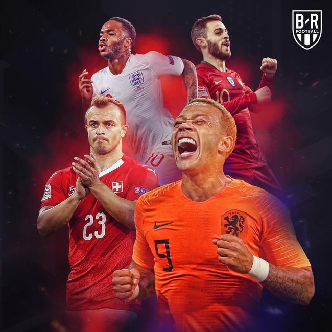 欧国联四强诞生!